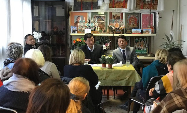 When in France, do as the French do but Keep Tibetan Identity Intact: CTA President in France