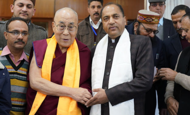 Himachal Chief Minister Jai Ram Thakur Calls on His Holiness the Dalai Lama
