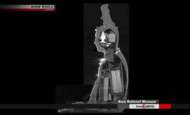 180 Artefacts Discovered in Bodhisattva Manjusri Statue
