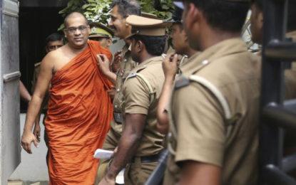 Hard-line Buddhist monk jailed for 6 months in Sri Lanka