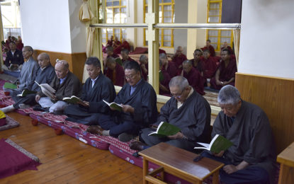 CTA organizes prayer service for long life of His Holiness the Dalai Lama