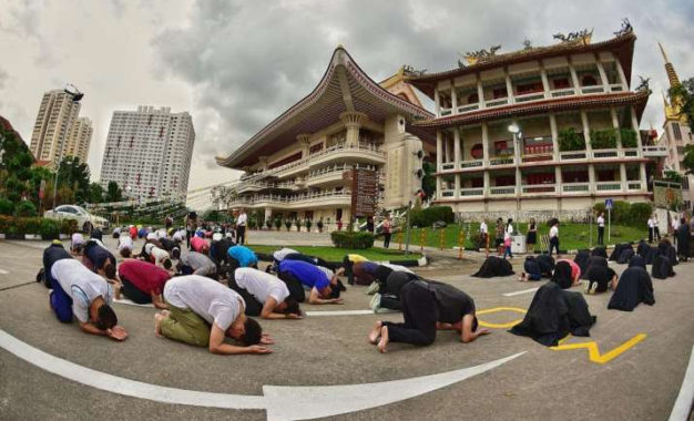 Singapore Buddhist Federation Promotes Alternatives to Life Release for Vesak Celebrations