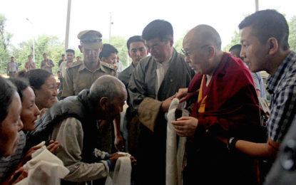 His Holiness the Dalai Lama Leaves for Delhi and Ladakh