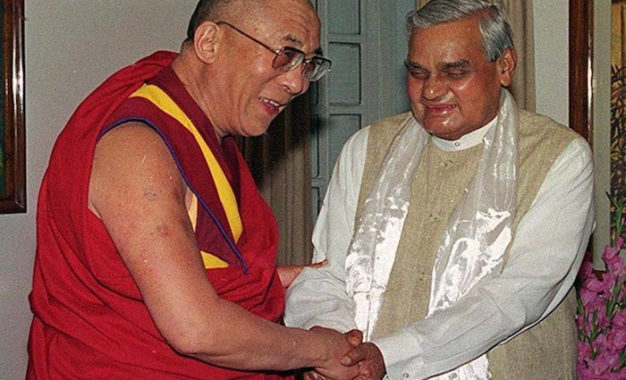 His Holiness the Dalai Lama condoles passing away of Shri Atal Bihari Vajpayee