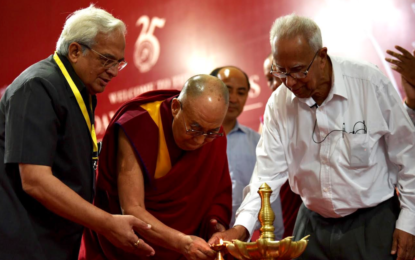 His Holiness the Dalai Lama Graces Silver Jubilee Celebration of Goa Institute of Management