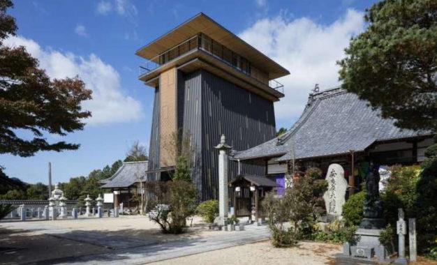 Japanese Architect Designs Modern Ancestral Hall Referencing Impermanence