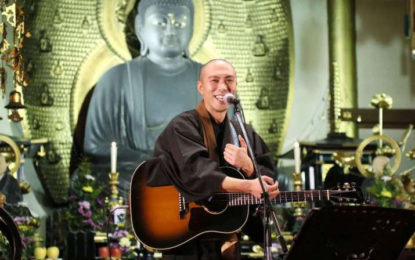 Japanese Monastics Share Ancient Buddhist Sutras Through Modern Music