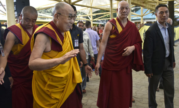 His Holiness the Dalai Lama Begins Four day Teachings on 'Entering into the Middle Way'