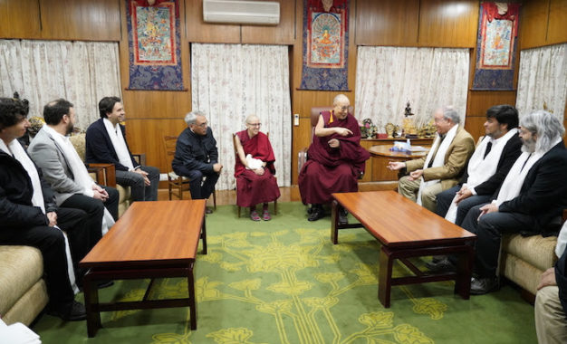 Chilean Parliamentary Delegation calls on His Holiness the Dalai Lama, visits Kashag Secretariat
