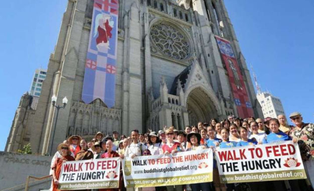 Fundraising Continues after NYC Buddhist Global Relief Hunger Walk Canceled