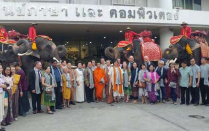 International Lay Buddhist Forum Held over the New Year in Ayutthaya