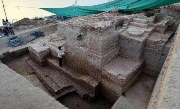 Buddha Head Found amid New Excavation Efforts in Gujarat, India