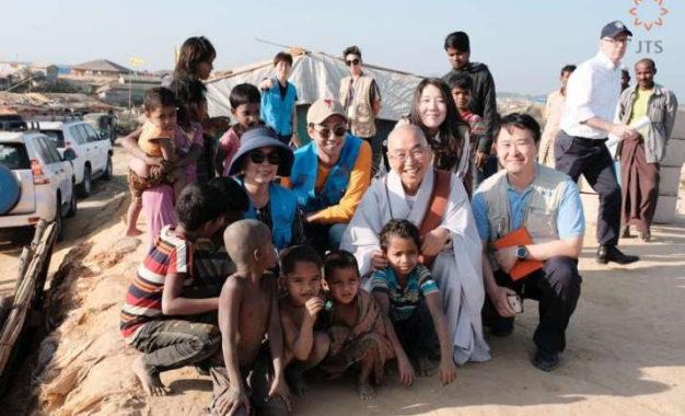 Korean Buddhist Humanitarian Organization JTS Brings 100,000 Gas Stoves to Rohingya Refugees in Bangladesh