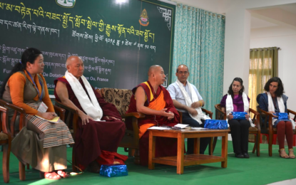 Education Department with Emory University & Drepung Loseling host Mentor Workshop on Secular Ethics