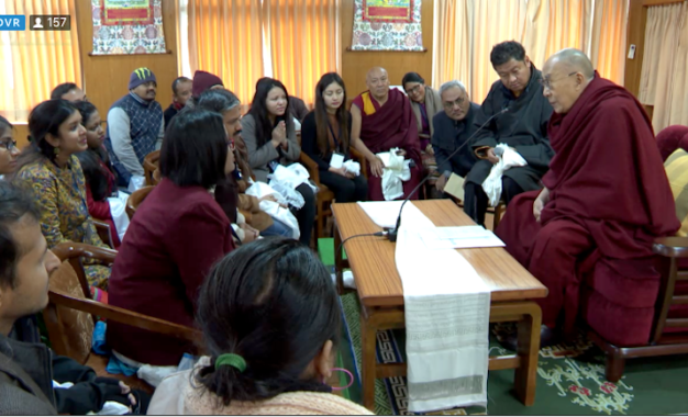 Ten thousand Tibetan monks trained and equipped with ancient Indian knowledge