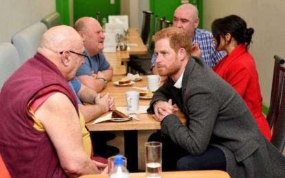 Britain's Prince Harry Reportedly Tells Buddhist Monk About Daily Meditation Practice