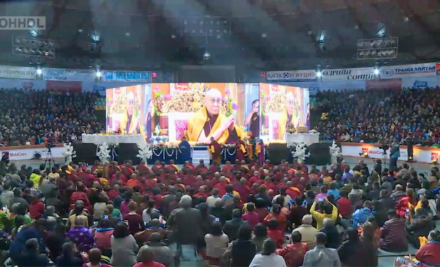 His Holiness the Dalai Lama begins two-day teaching for Mongolian Buddhists