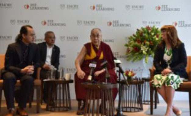 His Holiness at Global Launch of SEE learning