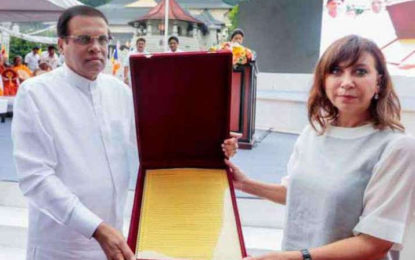 Sri Lankan President Seeks UNESCO World Heritage Status for Tipitaka