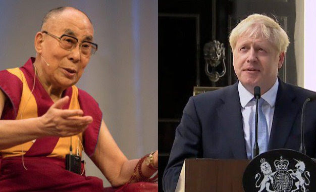His Holiness the Dalai Lama congratulates Boris Johnson on becoming UK's new Prime Minister