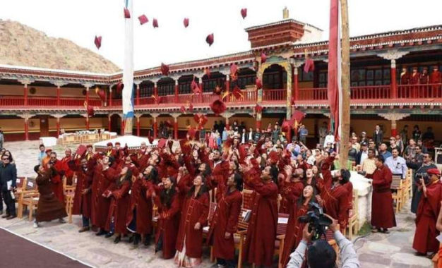 Young Innovators of the Naropa Fellowship Attend Graduation Convocation in Ladakh