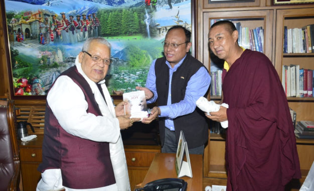 Shimla Chief Representative Officer greets new HP Governor Kalraj Mishra