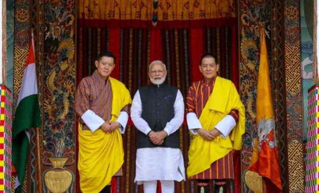 Bhutan Welcomes Indian PM on Two-day Visit to Strengthen Ties