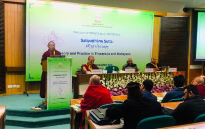 International conference on Buddhism in Delhi