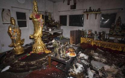 Buddhist Monks at Thai Temple in Las Vegas Flee Gunfire and Arson