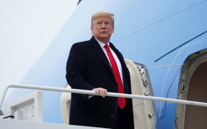 US President Trump considering visit to India next month