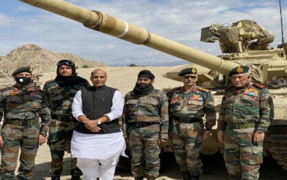 Rajnath Singh, CDS, Army Chief review security in Leh amid border row with China