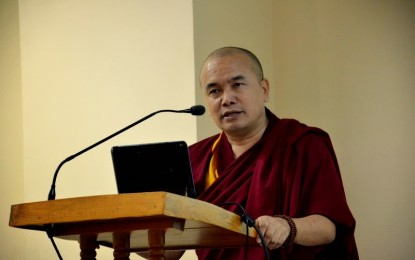 Geshe Dorji Damdul, Director, Tibet House, Cultural Center of H.H. the Dalai Lama