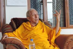 Samdhong Rinopche in an undated file photo. File photo/Facebook