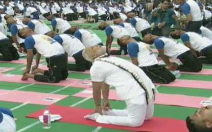 Yoga not a religious activity: PM Modi in Chandigarh