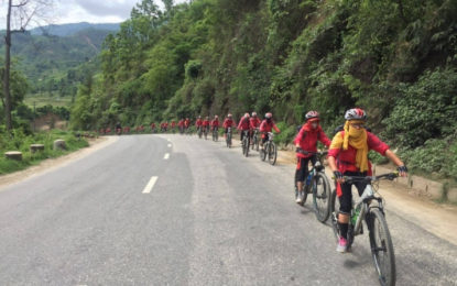 Gyalwang Drukpa Leads Cyclists on 4th Drukpa Eco Cycle Yatra