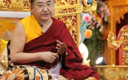 HH SAKYA TRIZIN, INTERVIEW