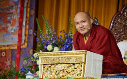 His Holiness the Karmapa Begins Landmark UK Visit