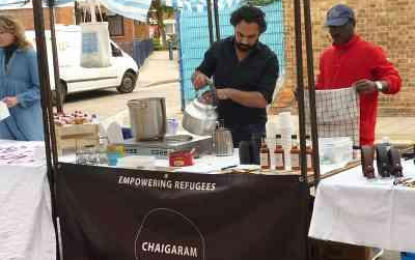 This desi helps refugees, one masala chai at a time