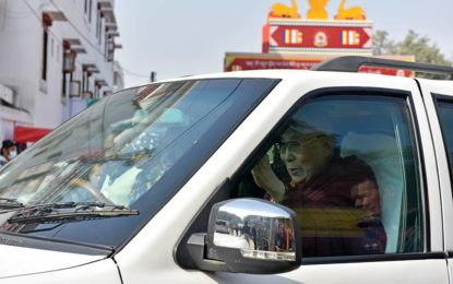 His Holiness the Dalai Lama Leaves for 2-day Pune Visit