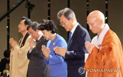 Buddhists Pray for Peace and Unification Ahead of Inter-Korean Summit