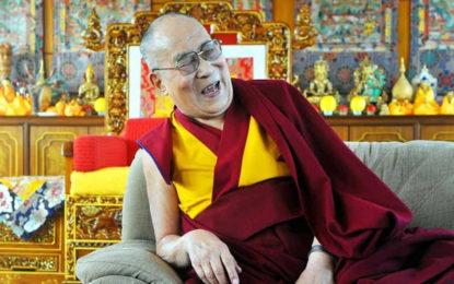 My body is Tibetan but spiritually I'm an Indian,' says the Dalai Lama