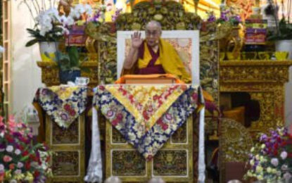 Online Registration Available for His Holiness the Dalai Lama's upcoming teaching in May 2019 at Dharamshala