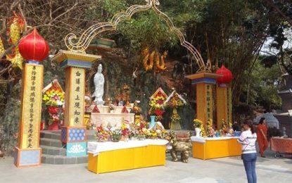 The annual Quan The Am (Avalokitesvara Bodhisattva) Buddhist Festival in Hanoi