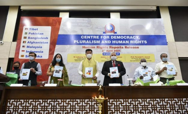 CTA President releases Human Rights report of seven neighbouring countries of India